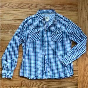 Paper, Denim & Cloth Button-down checkered shirt